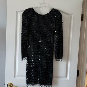 Sequin and beaded Fredrick's dress